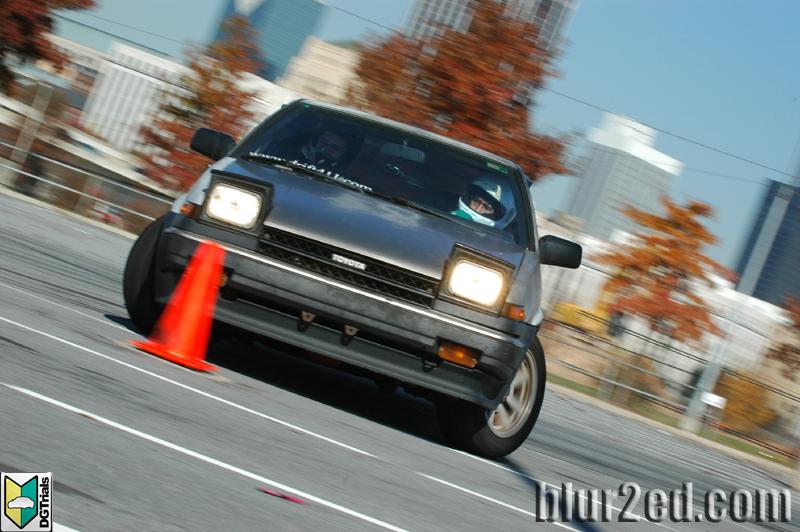 Huy AE86 Drifting