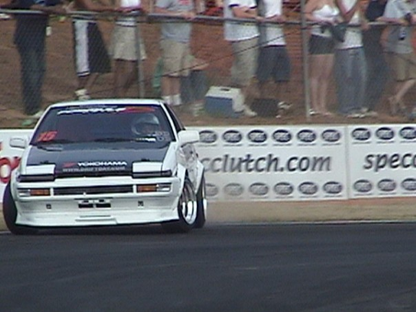 Taka Aono Drifting 2004 Road Atlanta