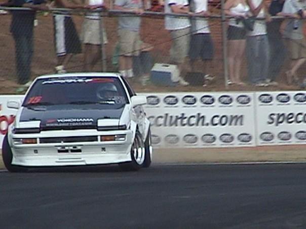 Taka Aono Drifting 2004 Road Atlanta